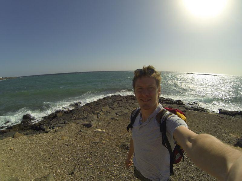 Arrecife coast